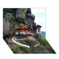 PARO TAKTSANG Heart Bottom 3D Greeting Card (7x5)