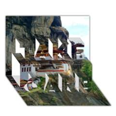 PARO TAKTSANG TAKE CARE 3D Greeting Card (7x5)