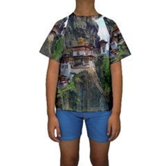 PARO TAKTSANG Kid s Short Sleeve Swimwear