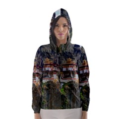 PARO TAKTSANG Hooded Wind Breaker (Women)