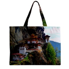 Paro Taktsang Zipper Tiny Tote Bags