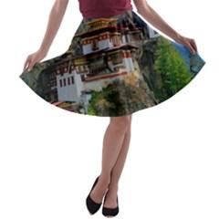 PARO TAKTSANG A-line Skater Skirt