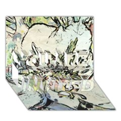 Art Studio 3216 YOU ARE INVITED 3D Greeting Card (7x5)