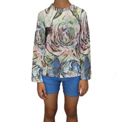 Art Studio 6216a Kid s Long Sleeve Swimwear