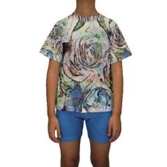 Art Studio 6216a Kid s Short Sleeve Swimwear