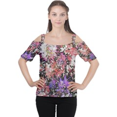 Art Studio 6216b Women s Cutout Shoulder Tee