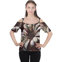 Art Studio 6216c Women s Cutout Shoulder Tee