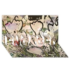 Art Studio 7216 ENGAGED 3D Greeting Card (8x4)