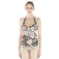 Art Studio 7216 Women s Halter One Piece Swimsuit
