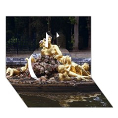 Palace Of Versailles 3 Apple 3d Greeting Card (7x5)
