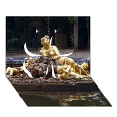 Palace Of Versailles 3 Clover 3d Greeting Card (7x5)