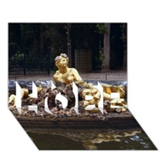 PALACE OF VERSAILLES 3 HOPE 3D Greeting Card (7x5)