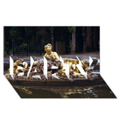PALACE OF VERSAILLES 3 PARTY 3D Greeting Card (8x4)