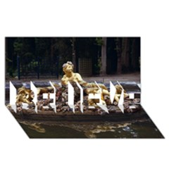 PALACE OF VERSAILLES 3 BELIEVE 3D Greeting Card (8x4)