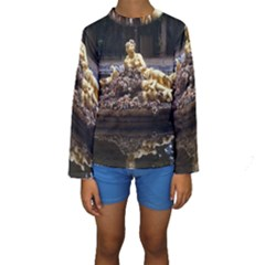 Palace Of Versailles 3 Kid s Long Sleeve Swimwear