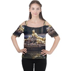 Palace Of Versailles 3 Women s Cutout Shoulder Tee