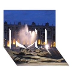 PALACE OF VERSAILLES 2 I Love You 3D Greeting Card (7x5)