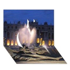 Palace Of Versailles 2 Apple 3d Greeting Card (7x5)