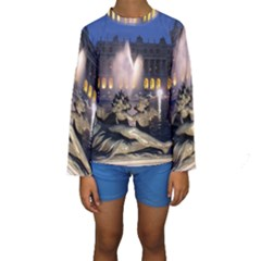 PALACE OF VERSAILLES 2 Kid s Long Sleeve Swimwear
