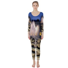 Palace Of Versailles 2 Long Sleeve Catsuit