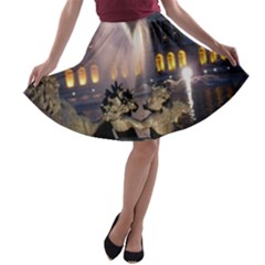 PALACE OF VERSAILLES 2 A-line Skater Skirt