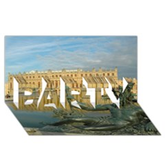 PALACE OF VERSAILLES 1 PARTY 3D Greeting Card (8x4)