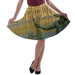 Palace Of Versailles 1 A Line Skater Skirt