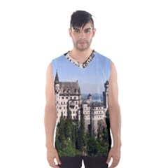 Neuschwanstein Castle 2 Men s Basketball Tank Top