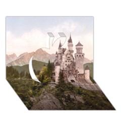 Neuschwanstein Castle Apple 3d Greeting Card (7x5)