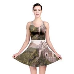 Neuschwanstein Castle Reversible Skater Dresses