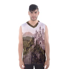 NEUSCHWANSTEIN CASTLE Men s Basketball Tank Top