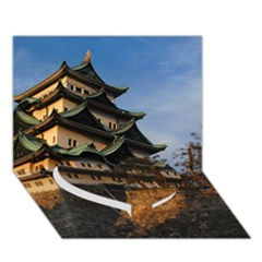 NAGOYA CASTLE Heart Bottom 3D Greeting Card (7x5)