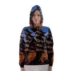 Nagoya Castle Hooded Wind Breaker (women)