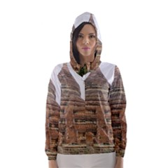MINGALAZEDI Hooded Wind Breaker (Women)