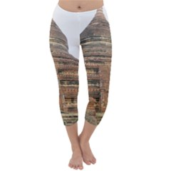 MINGALAZEDI Capri Winter Leggings