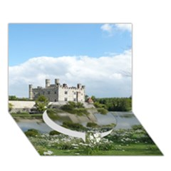 LEEDS CASTLE Circle Bottom 3D Greeting Card (7x5)