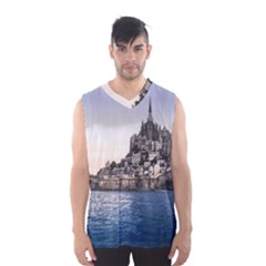 LE MONT ST MICHEL 2 Men s Basketball Tank Top