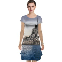 Le Mont St Michel 2 Cap Sleeve Nightdresses