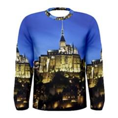 Le Mont St Michel 1 Men s Long Sleeve T Shirts