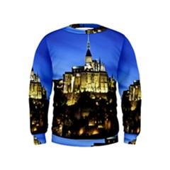 Le Mont St Michel 1 Boys  Sweatshirts