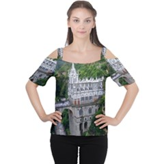 Las Lajas Sanctuary 2 Women s Cutout Shoulder Tee