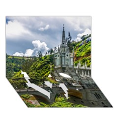 LAS LAJAS SANCTUARY 1 LOVE Bottom 3D Greeting Card (7x5)