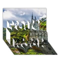 LAS LAJAS SANCTUARY 1 You Rock 3D Greeting Card (7x5)