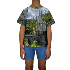 LAS LAJAS SANCTUARY 1 Kid s Short Sleeve Swimwear