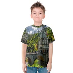 Las Lajas Sanctuary 1 Kid s Cotton Tee