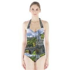 LAS LAJAS SANCTUARY 1 Women s Halter One Piece Swimsuit