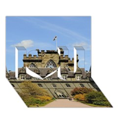 INVERARAY CASTLE I Love You 3D Greeting Card (7x5)