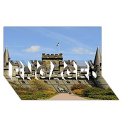 INVERARAY CASTLE ENGAGED 3D Greeting Card (8x4)