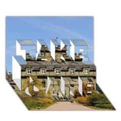 Inveraray Castle Take Care 3d Greeting Card (7x5)