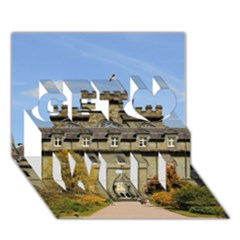 Inveraray Castle Get Well 3d Greeting Card (7x5)